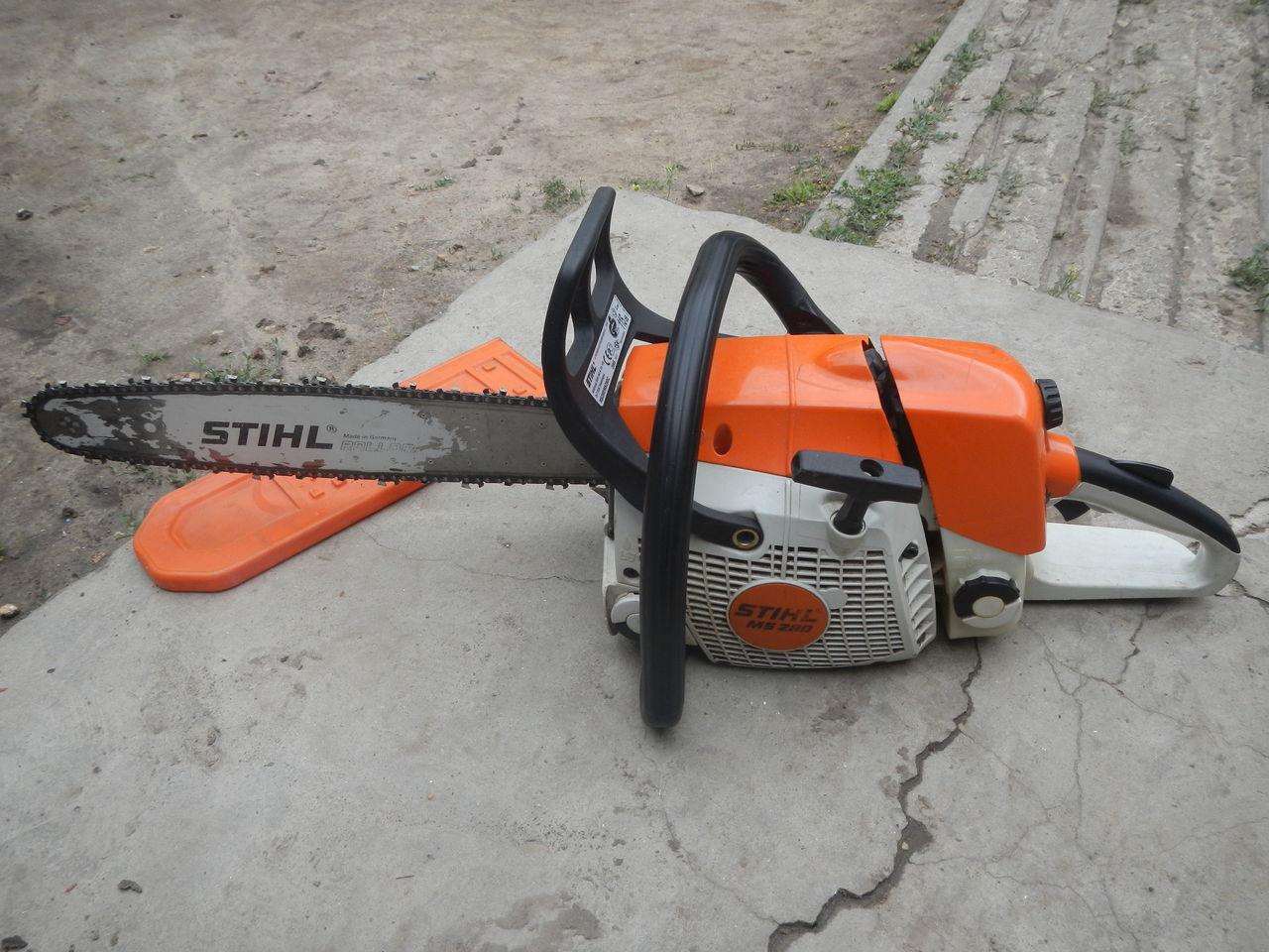Бензопила stihl ms 280: обзор, характеристики, отзывы