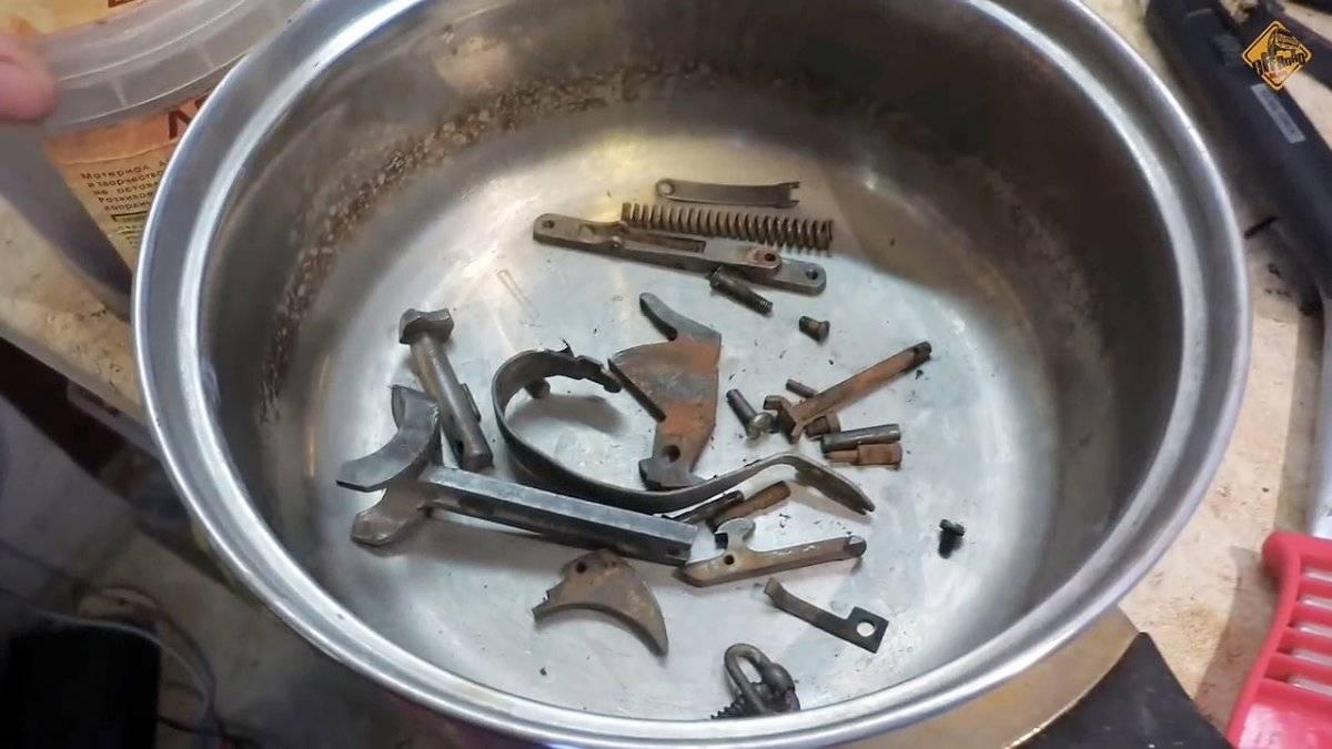 Способы удаления ржавчины с металлических поверхностей