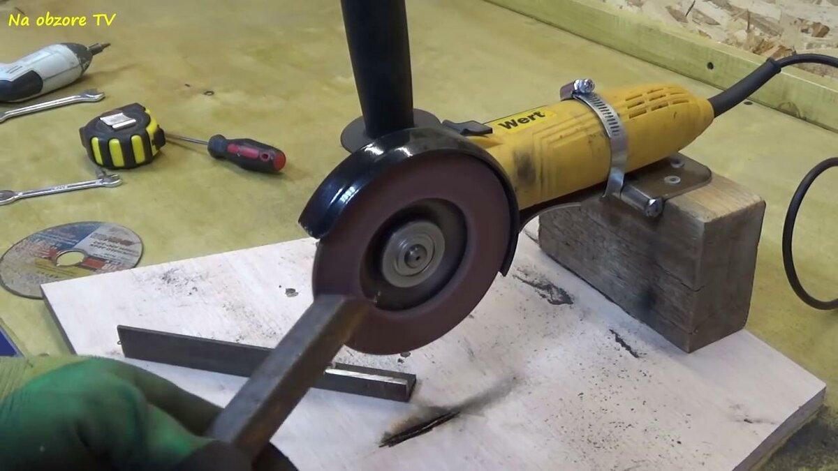 Отрезной станок из болгарки своими руками: самодельная модель из ушм по металлу. как сделать очень точный обрезной станок по чертежам?