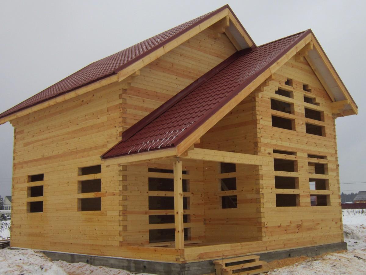 Brusina — компания строит теплые деревянные дома под ключ и под усадку