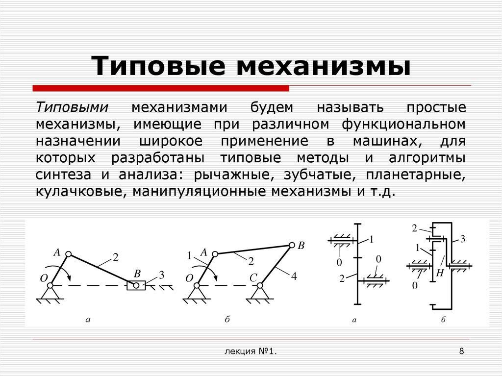 Курсовая работа: кинематический и силовой анализ рычажного механизма