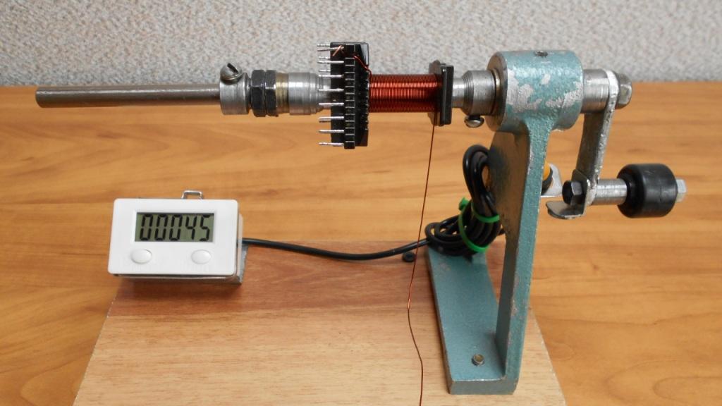 Станок для намотки тороидальных трансформаторов своими руками - о металле