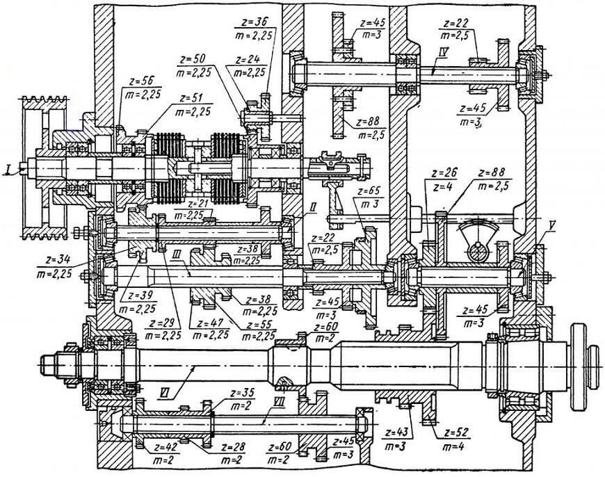 Назначение и устройство, технические характеристики токарного станка 1а62