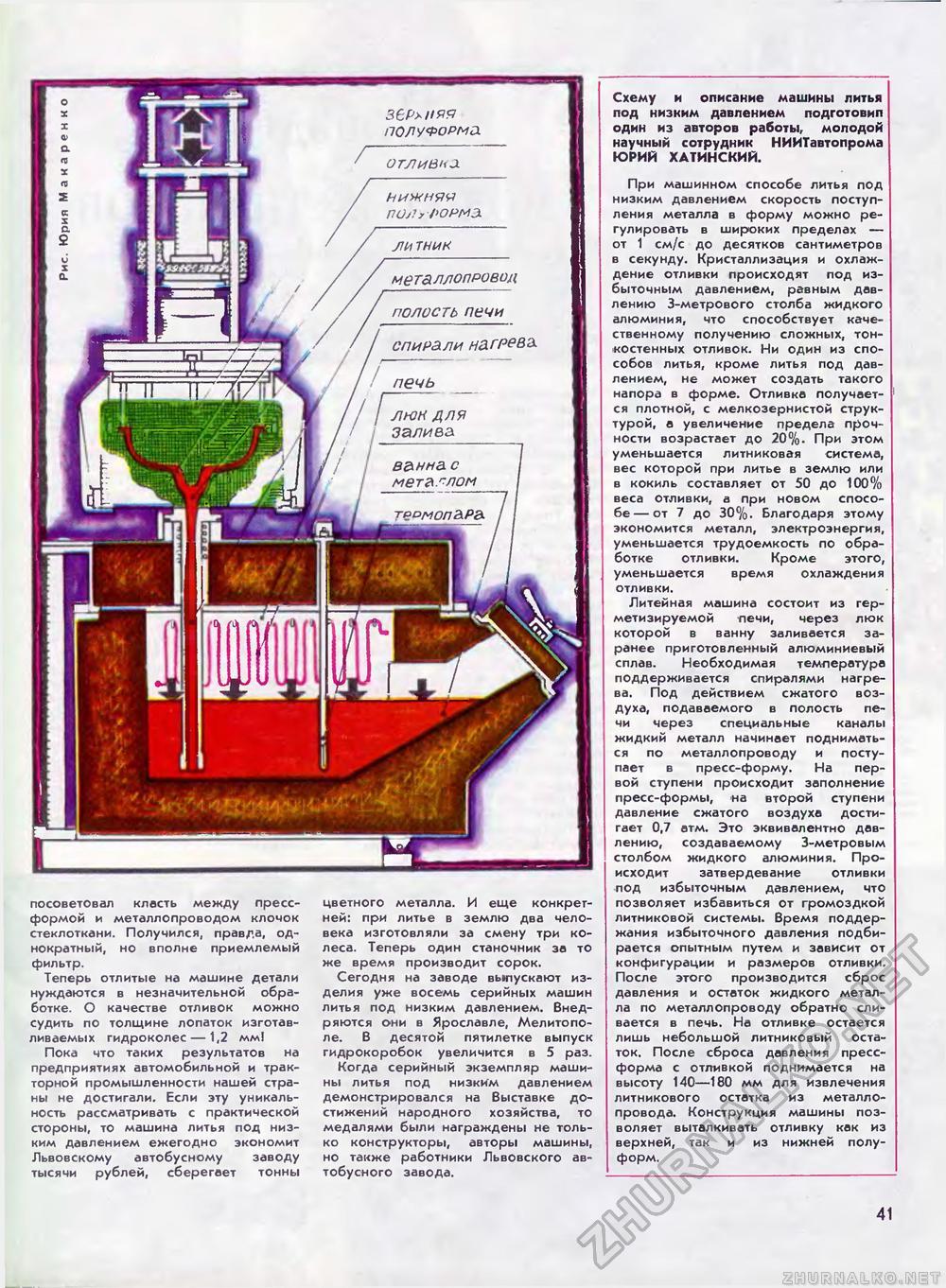 Виды литья металлов и сплавов