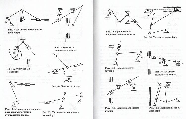 Курсовая работа: анализ работы плоского рычажного механизма - bestreferat.ru
