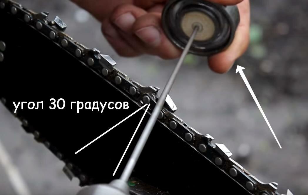 Как самостоятельно укоротить цепь бензопилы?