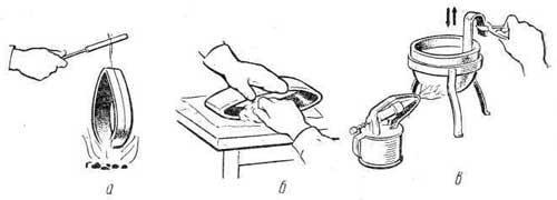 Олово для пайки и лужения металлов, оловянные припои, особенности их применения