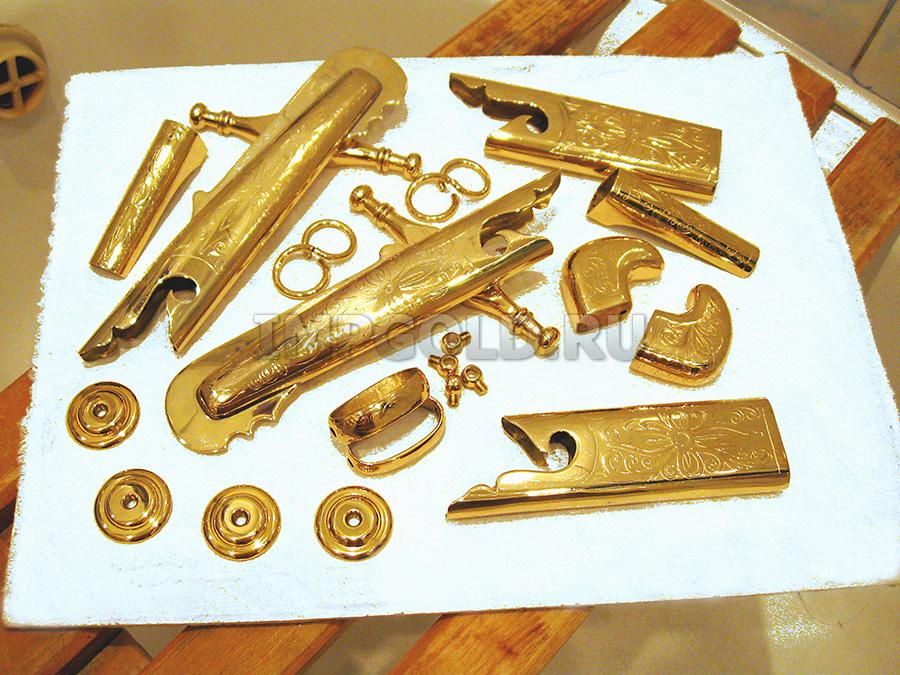 Золочение металла в домашних условиях