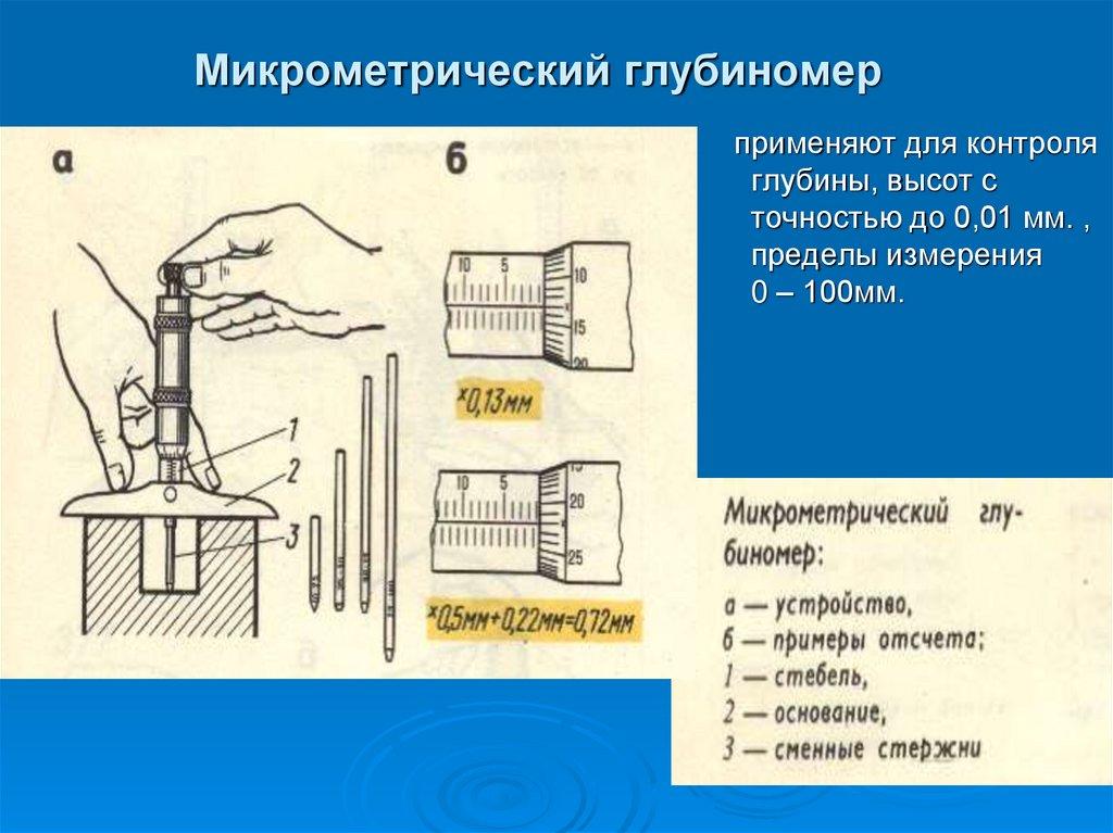 Учимся делать измерения разными видами микрометров – мои инструменты