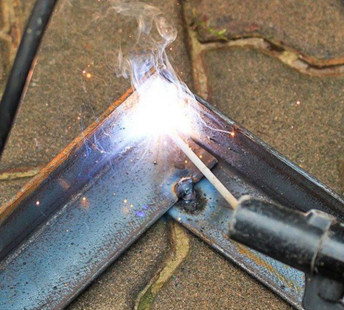 Сварка алюминия электродом