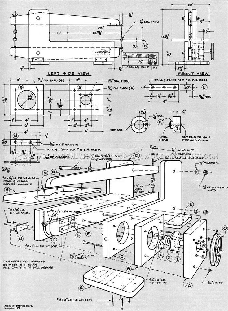 Лобзиковый станок своими руками: чертежи, схемы и отзывы