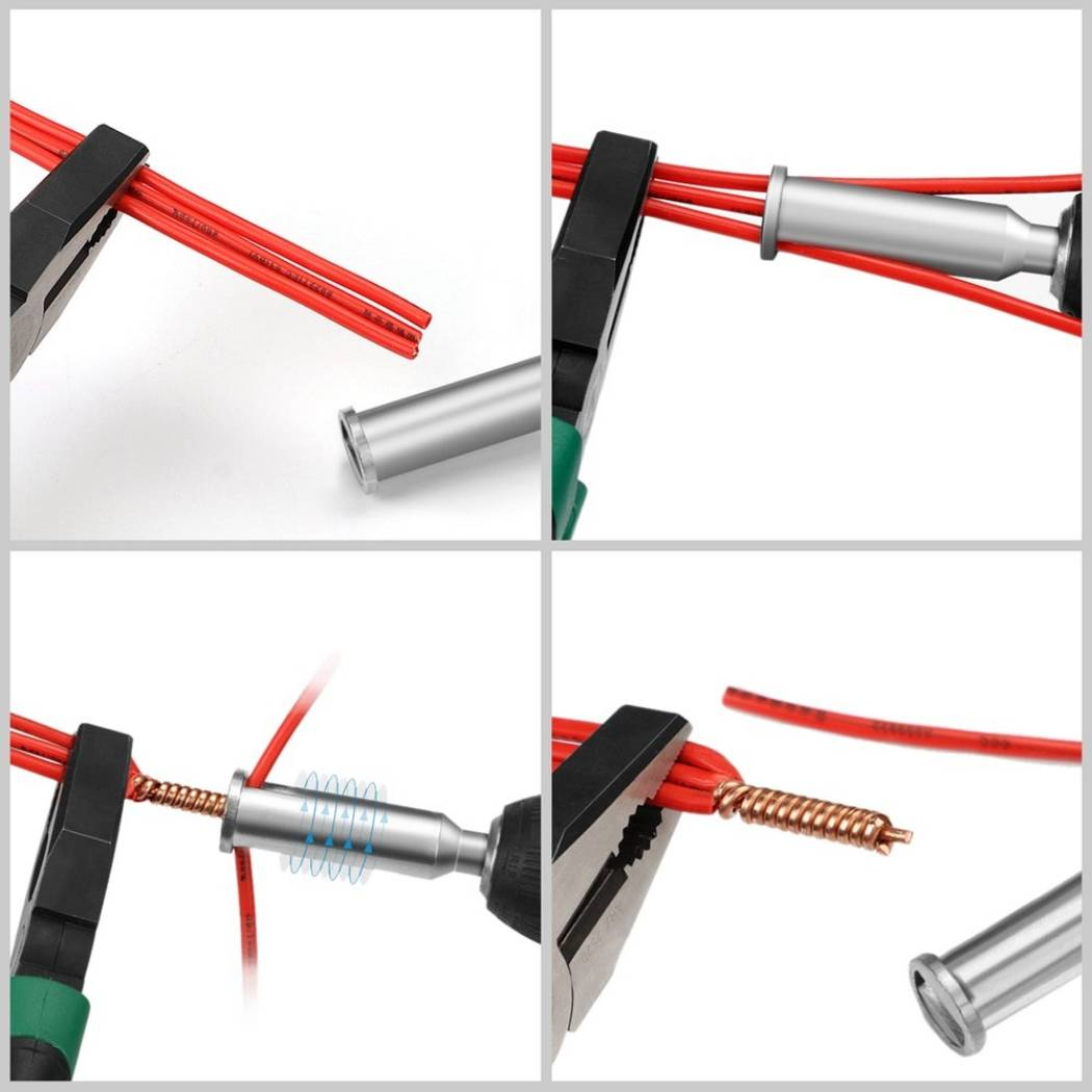 Способы соединения проводов и кабелей в электрике