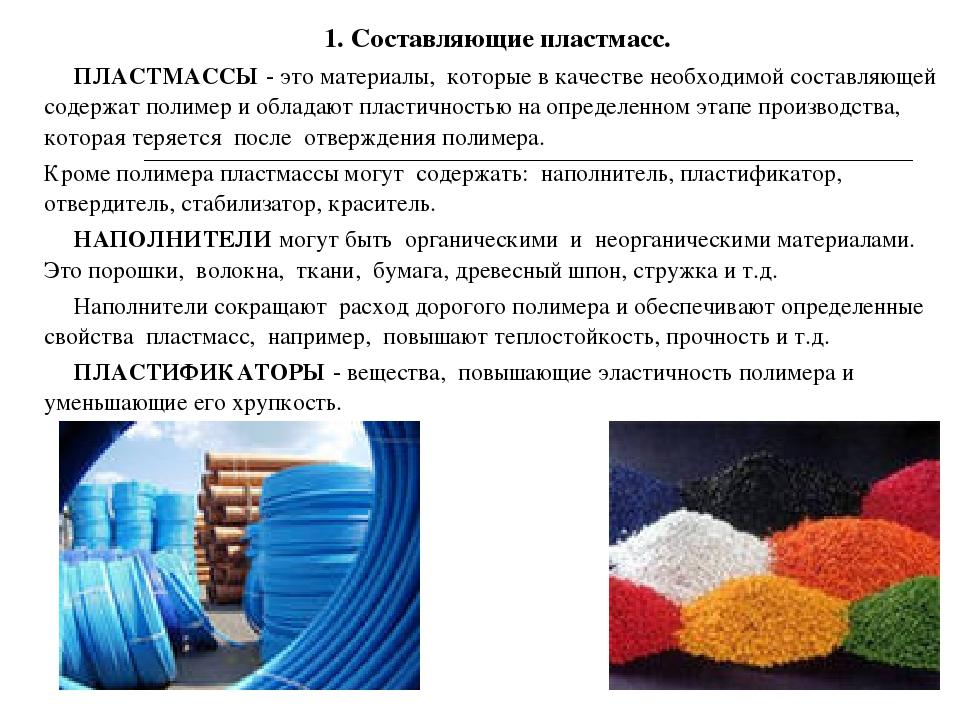 Органические полимеры: виды, состав, применение