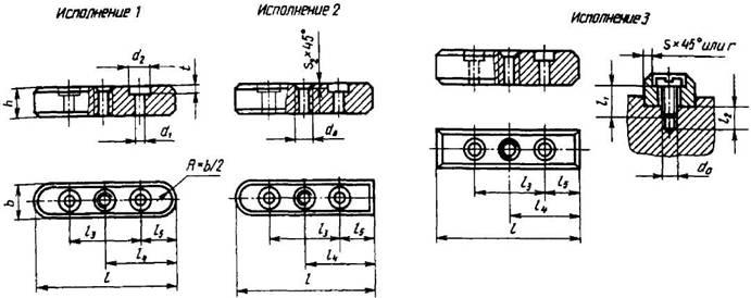 Основные типы и параметры шпоночных соединений.