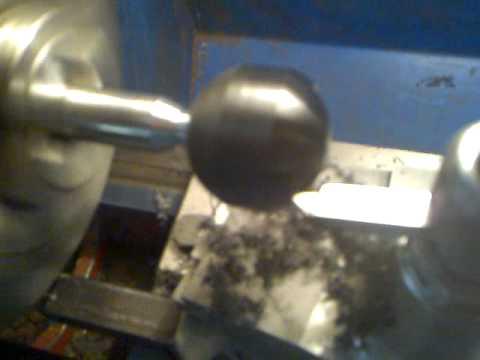 Приспособление для точения шаров на токарном станке - о металле