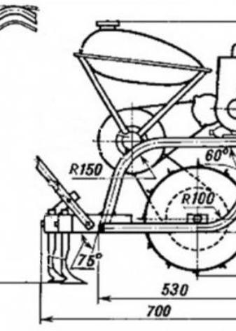 Культиватор из бензопилы — преимущества и порядок изготовления