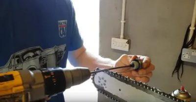 Как правильно заточить цепь бензопилы своими руками в домашних условиях