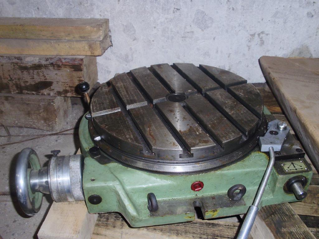 Столы поворотные для фрезерных станков и цена изделий