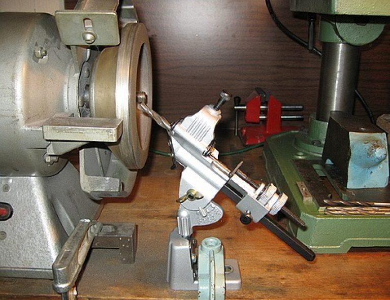 Станок для заточки сверл можно сделать своими руками из металлолома