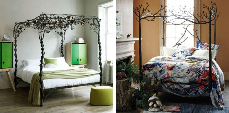 Кованые кровати: фото, виды, цвет, дизайн, изголовье с элементами ковки