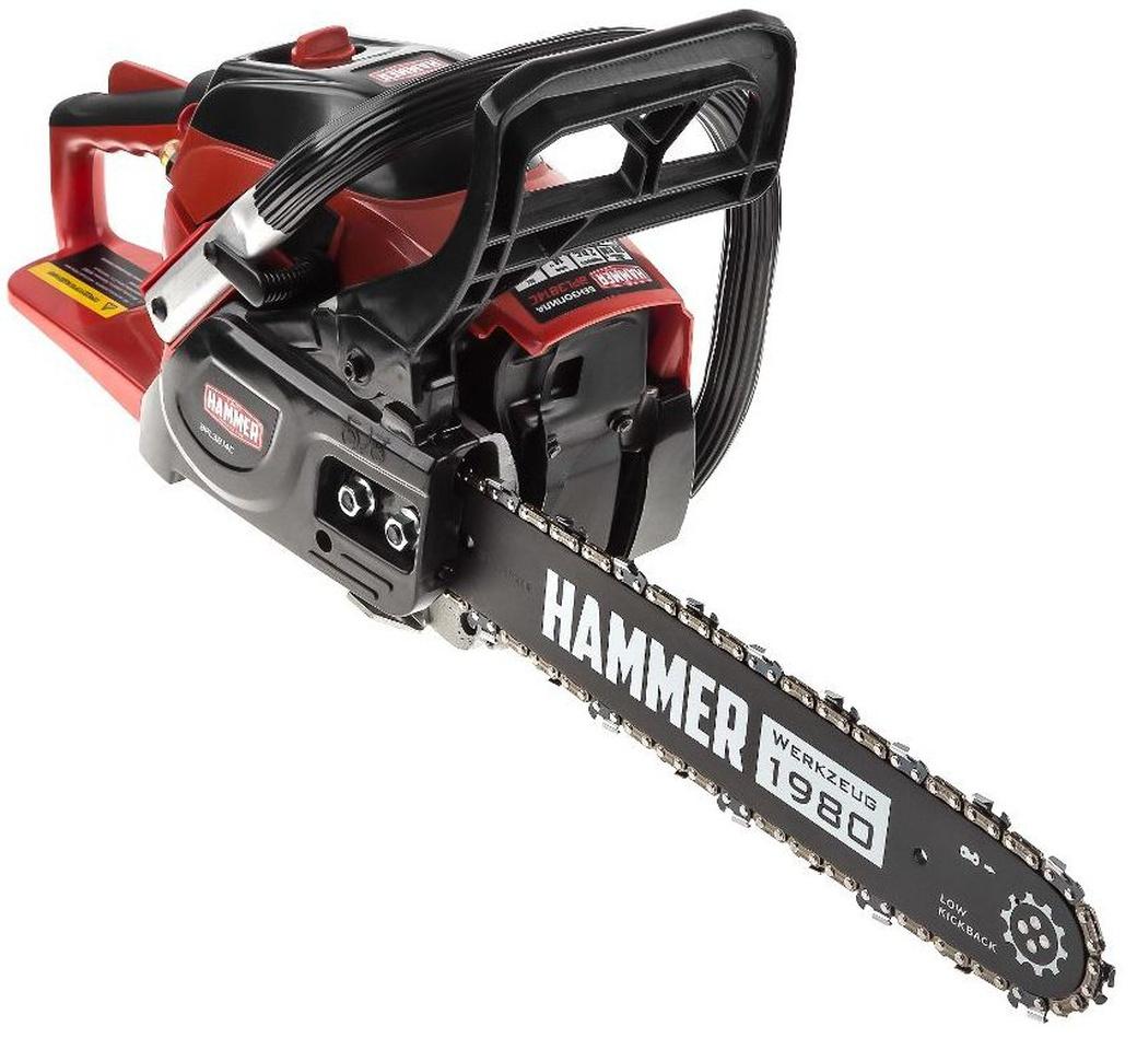 Бензопилы хаммер (hammer) — обзор моделей