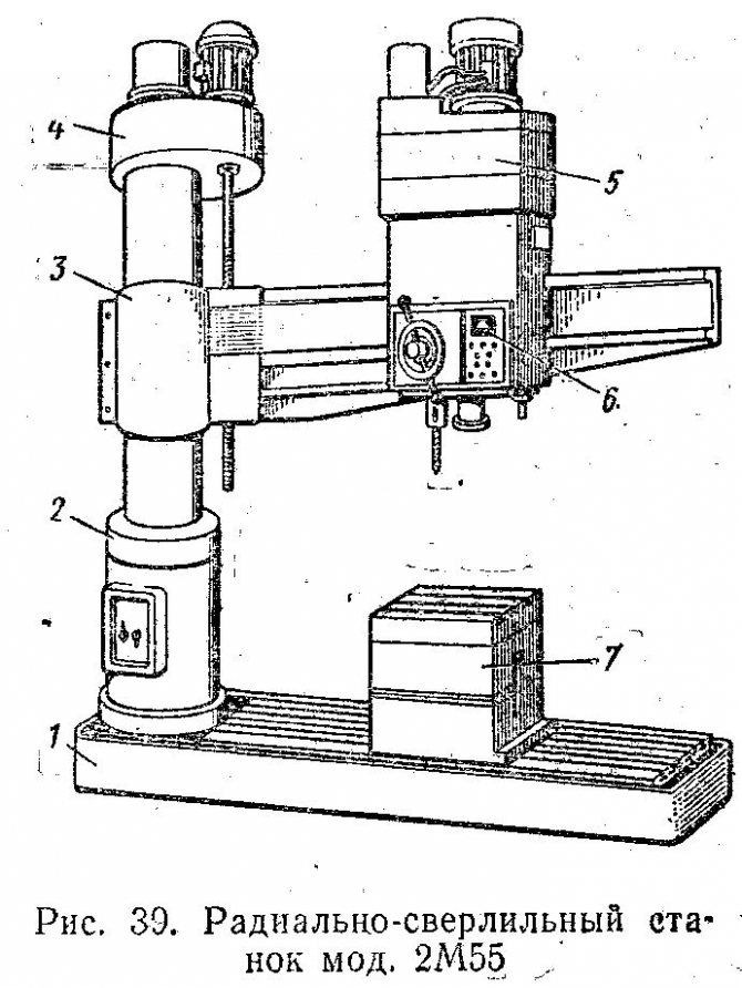 Станок 2м55 радиально-сверлильного типа: ключевые технические характеристики и особенности