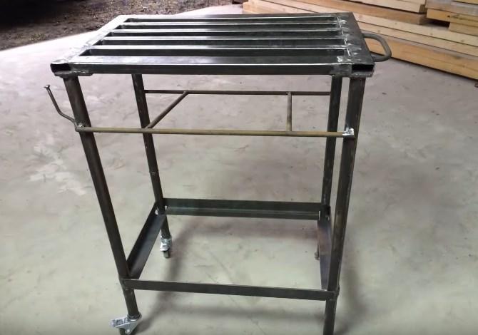 Сварочный стол своими руками - советы по изготовлению