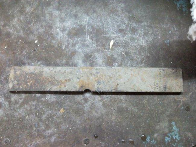 Нож из рессоры