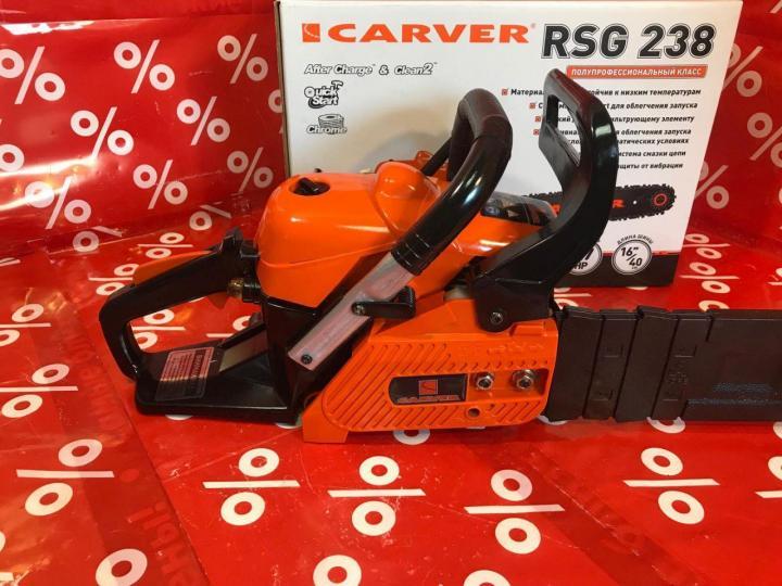 Бензопила carver promo psg-45-15 — модель для взыскательных пользователей