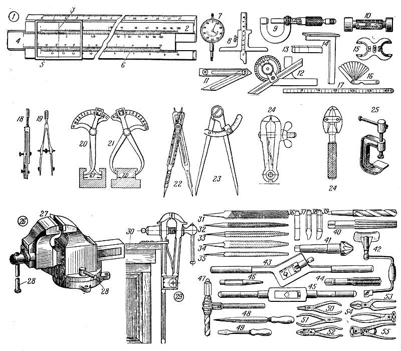 Измерительные инструменты: виды, применение, техника измерения