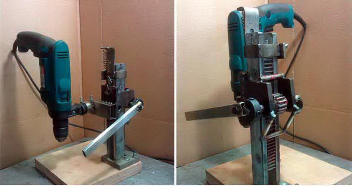 Как сделать сверлильный станок из дрели своими руками + способ изготовления за 300 рублей