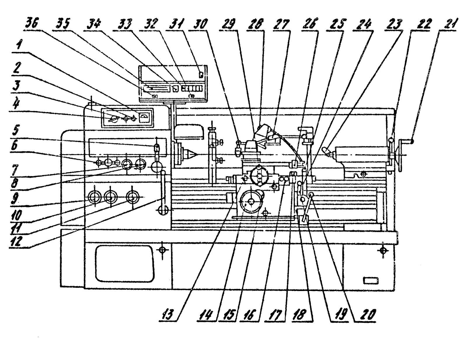 1в61 станок токарно-винторезный универсальный. паспорт, схемы, характеристики, описание