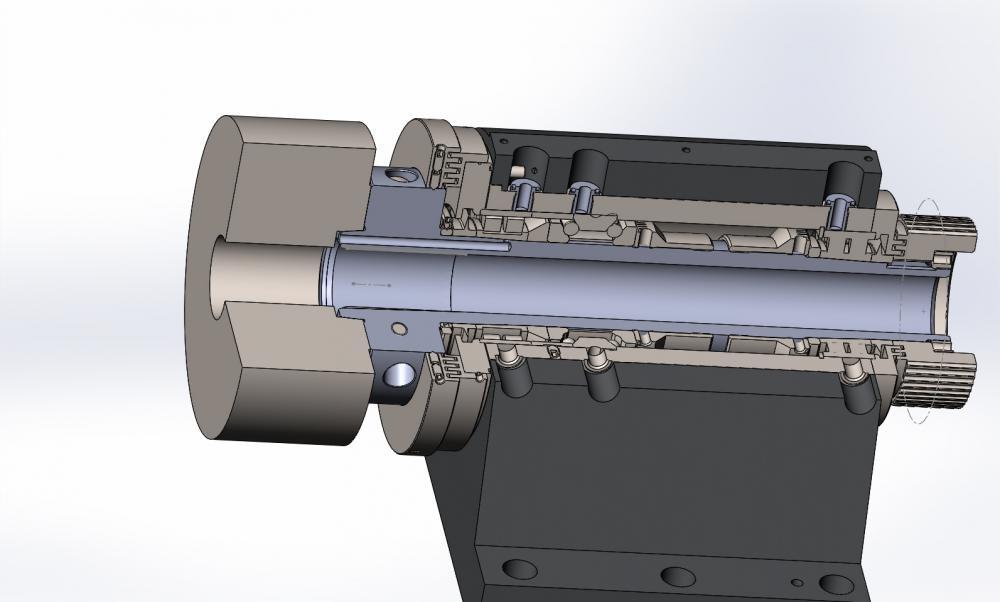 Подшипники токарно-винторезного станка 16к20. регулировка шпиндельного узла