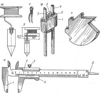 Разметочные инструменты и приспособления