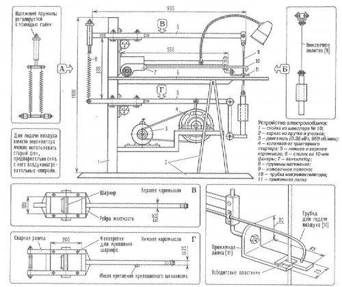 Лобзиковый станок своими руками: чертежи, описание и видео | строительство. деревянные и др. материалы