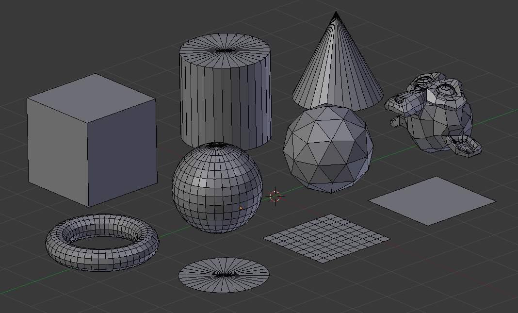 Modding:полигональное моделирование — tiarum