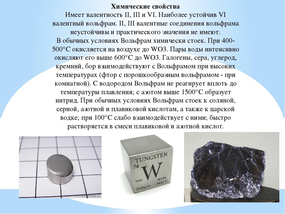 Молибден: применение и свойства металла