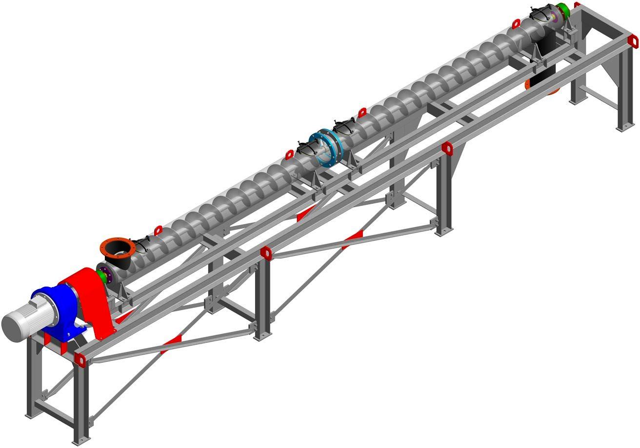 Скребковый конвейер: конструкция, принцип работы, виды