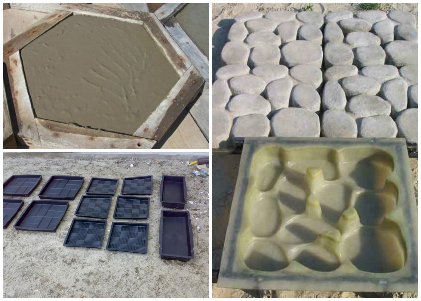 Как сделать форму для отливки из бетона