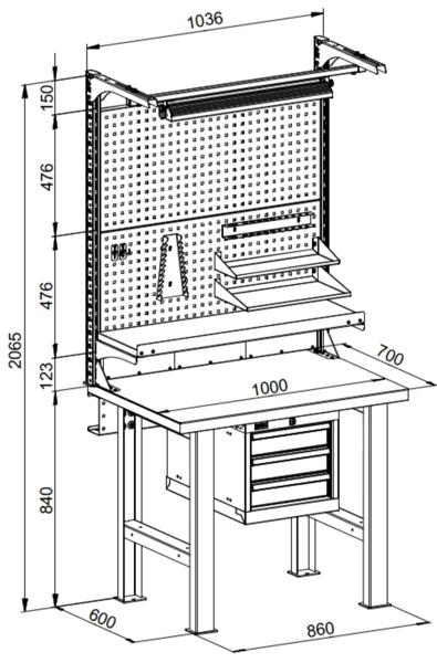 Изготовление слесарного верстака своими руками