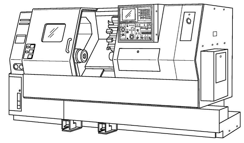 Технические характеристики токарного станка с чпу