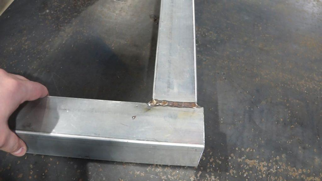 Сварка профильной (квадратной) трубы 2 мм: технология, способы