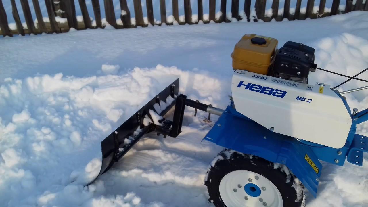 Снегоуборщик для мотоблока