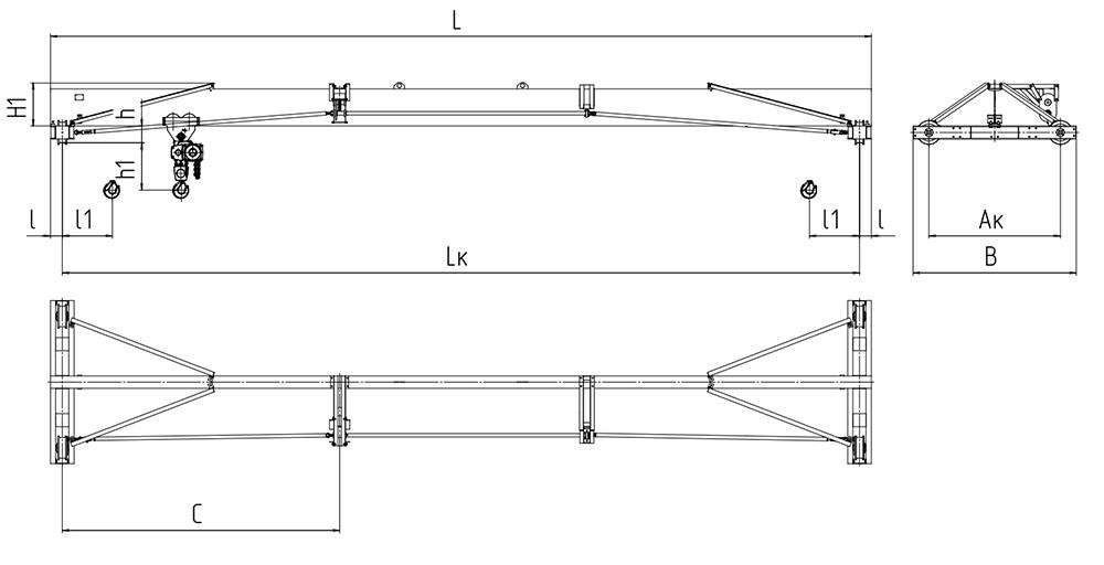 Области применения и разновидности устройства перемещения грузов крана-балки