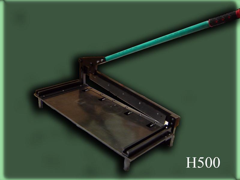 Гильотина для резки листового металла - металлы и металлообработка