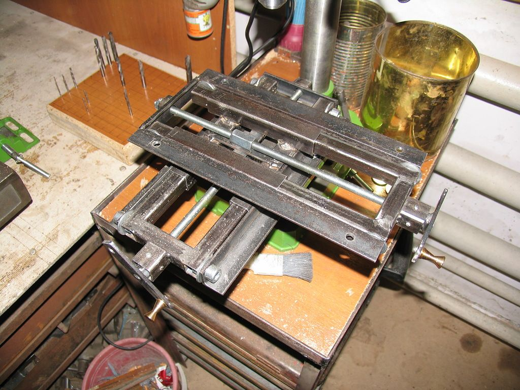 Координатный стол своими руками, материалы, пошаговая инструкция