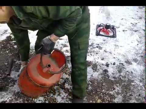 Как распилить газовый баллон болгаркой безопасно. как разрезать газовый баллон, необходимые инструменты