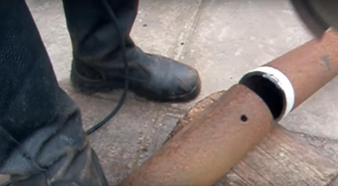 Как рассчитать угол реза трубы