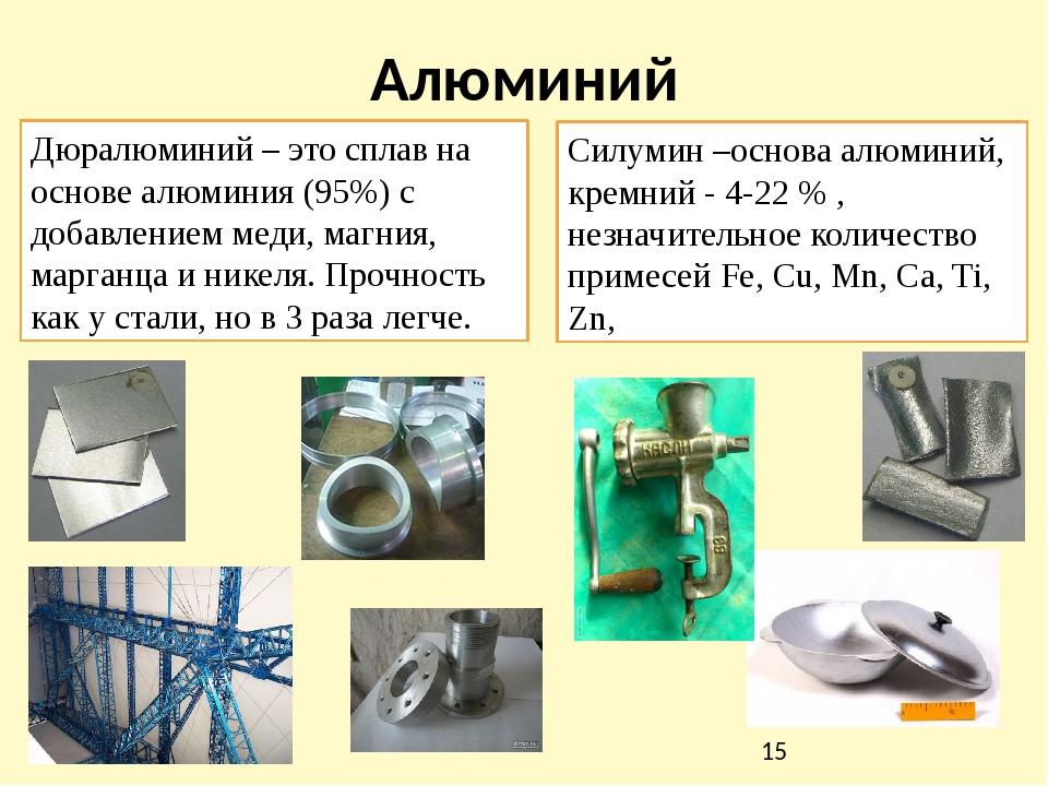 Какими характеристиками обладает дюралюминий, и где применим этот материал