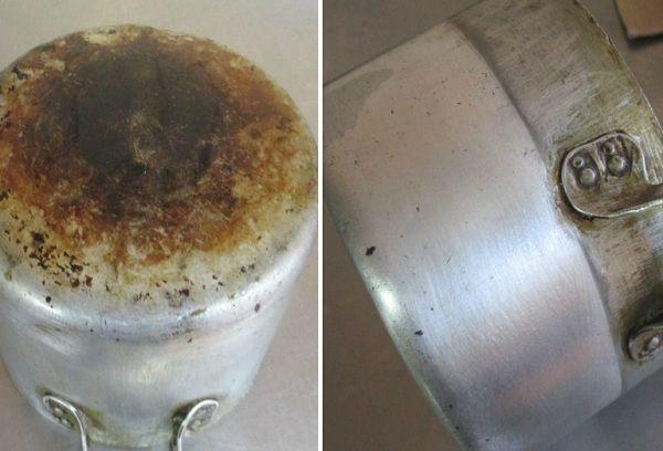 Чем очистить алюминий от окислений в домашних условиях